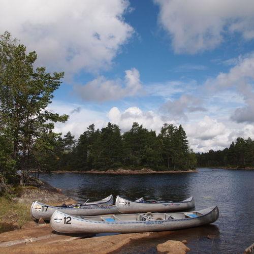 Bild zum Weblog Scout Kanu- Wanderfreizeit Schweden